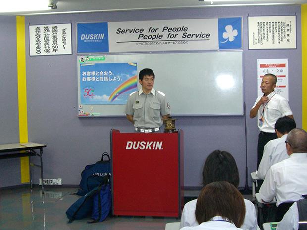 高松南消防署より「AED講習」に来て戴きました。